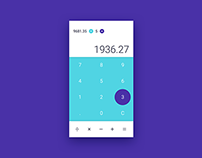 Daily UI #4 - Calculator