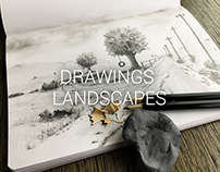 Drawings - Landscapes