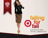 Falling for Fall - Target- Rich Media Advertisement