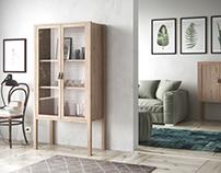 Walnut Piero furniture