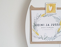 Heini and Jussi / Wedding visuals