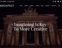 Architect WordPress Theme - Interior Design Slider