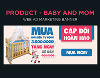Banner Web Ad Marketing - Shop Baby&Mom
