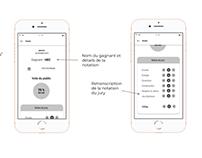 Improvisation app mobile - UX Design