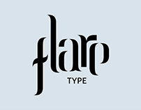 Flare Typeface