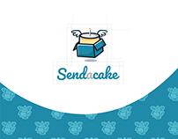Send a cake - Logo Design