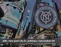 SS15 New York City FC Matchwear