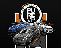 illustration for PURE VIP car club