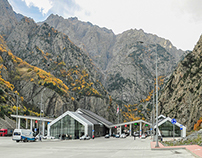 Border checkpoint Kazbegi / ყაზბეგის საბაჟო