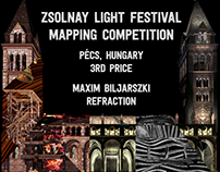Mapping Contest 3rd Price - Zsolnay Light Festival