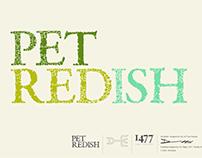 Pet Redish Typeface Design.