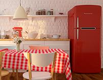 Retro Kitchen 3D