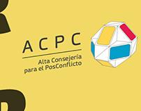 Alta Consejería para el Posconflicto - ACPC Brand Work