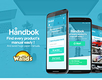 Handbok - Find Product's Manuals Easly