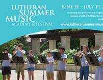 Lutheran Music Program: Brochure Design