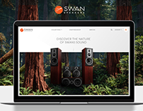 Swan Speakers Website Design