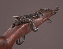 Iranian Rifle Mauser M1309