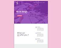 Landing Page Concept Ui Design