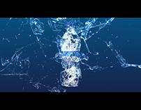 Aquafina Motion Graphics for Facebook Cover