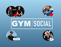 Fitness Social Media App.