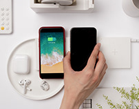 Mobile island - modular wireless charger