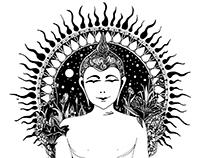 BUDDHA / Hand drawing