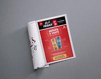 Magazine Advertisement Design - Omay Foods