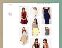 Seleste - Web shop