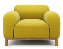 Brady Armchair