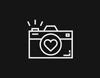 Camera shop card design