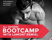 Fitness Bootcamp Poster
