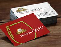 Écrin de Dzama : visuels de communication boutique