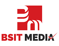 Logo Design for BSIT MEDIA. Good Luck Naveen :)