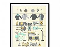 Daft Punk - Illustration