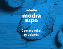 Modra Odra Commercial products