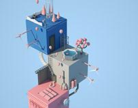 3D Block Land