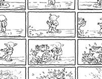 Storyboards for animatics