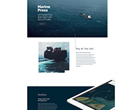 Marine Press - Company Website
