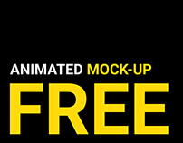 FREE animated mockup | part 1