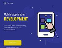 Web Banner For Mobile Application Developer