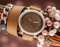 Watch and Pearls