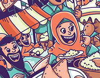 Food Fest (illustration)