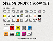Speech Bubble - Free Icon Set