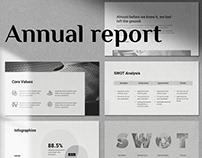 Free Annual Report Presentation Template