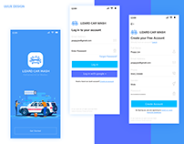 UI/UX Design Car Wash App