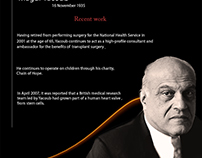 my design for Dr My New Design For Dr. Magdi Yacoub