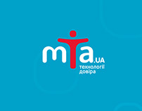 MTA.UA – logo & identity of digital equipment store