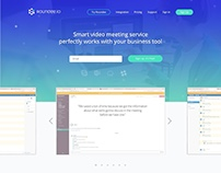 Landing page for Roundee.io