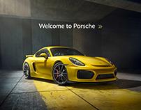 Revamping the Porsche Website