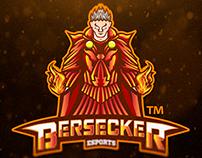 Warlock Mascot Sports Logo | Bersecker Esports